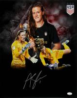 Alyssa Naeher Signed Team USA Soccer 16x20 Photo (JSA Hologram) at PristineAuction.com