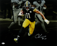 Chase Claypool Signed Steelers 16x20 Photo (Beckett COA) at PristineAuction.com