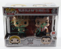 "Ted DiBiase & I.R.S. Signed ""Million Dollar Man"" (2) Pack WWE Funko Pop! Vinyl Figures (JSA COA) at PristineAuction.com"