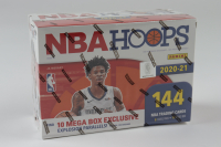 2020-21 Panini NBA Hoops Basketball Mega Box with (18) Packs at PristineAuction.com