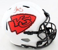 Tyreek Hill Signed Chiefs Full-Size Lunar Eclipse Alternate Speed Helmet (Beckett COA) (See Description) at PristineAuction.com