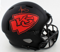 Tyreek Hill Signed Chiefs Full-Size Eclipse Alternate Speed Helmet (Beckett COA) (See Description) at PristineAuction.com