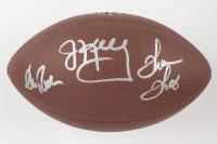 Andre Reed, Thurman Thomas, & Jim Kelly Signed NFL Football (JSA COA) (See Description) at PristineAuction.com