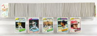 Complete Set of (726) 1980 Topps Baseball Cards with Rickey Henderson #482 RC, Nolan Ryan #580, Ozzie Smith #393, Pete Rose #540 at PristineAuction.com
