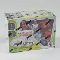 2020 / 21 Panini Prizm Premier League Soccer Blaster Box with (6) Packs at PristineAuction.com