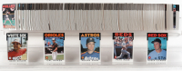 1986 Topps Complete Set of (792) Baseball Cards with Cal Ripken #340, Nolan Ryan #100, Pete Rose #1 at PristineAuction.com