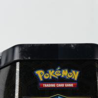 Pokemon TCG: Sun & Moon Hidden Fates Collector's Tin - Gyarados - GX (See Description) at PristineAuction.com