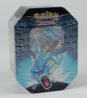 Pokemon TCG: Sun & Moon Hidden Fates Collector's Tin - Gyarados - GX at PristineAuction.com