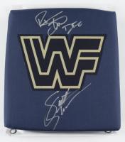 Scott Steiner & Rick Steiner Signed WWE Turnbuckle Pad (JSA COA) at PristineAuction.com