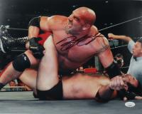 Bill Goldberg Signed WWE 11x14 Photo (JSA COA) (See Description) at PristineAuction.com