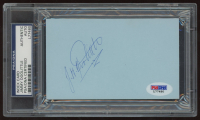 Jimmy Doolittle Signed 3x5 Cut (PSA Encapsulated) at PristineAuction.com