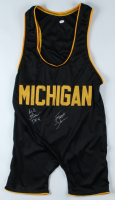 "Scott Steiner & Rick Steiner Signed Michigan Singlet Inscribed ""DFG"" (JSA COA) (See Description) at PristineAuction.com"