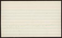 Duke Snider Signed 3x5 Index Card (Beckett COA) (See Description) at PristineAuction.com
