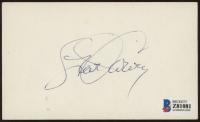 Steve Garvey Signed 3x5 Index Card (Beckett COA) (See Description) at PristineAuction.com