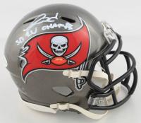 "Ronald Jones II Signed Buccaneers Speed Mini Helmet Inscribed ""SB LV Champs"" (Beckett COA) at PristineAuction.com"