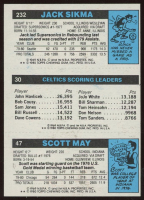 47 Scott May / 30 Larry Bird TL / 232 Jack Sikma 1980-81 Topps #98 at PristineAuction.com