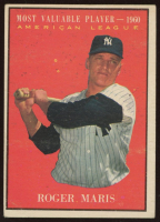 Roger Maris 1961 Topps #478 MVP at PristineAuction.com