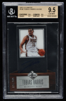 Tobias Harris Signed 2012-13 Limited #168 Autograph RC (BGS 9.5) at PristineAuction.com