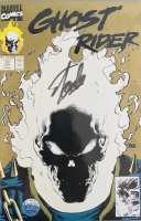 "Stan Lee Signed 1991 ""Ghost Rider"" Issue #15 Marvel Comic Book (Lee COA) at PristineAuction.com"