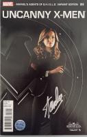 "Stan Lee Signed 2014 ""Uncanny X-Men"" Issue #14 Marvels Agents of S.H.I.E.L.D. Variant Marvel Comic Book (Lee COA) at PristineAuction.com"