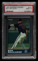 Roy Halladay 1997 Bowman Chrome #212 RC (PSA 9) at PristineAuction.com