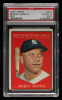 Mickey Mantle 1961 Topps #475 MVP (PSA 4) (OC) at PristineAuction.com
