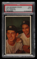 Phil Rizzuto / Billy Martin 1953 Bowman Color #93 (PSA 3) at PristineAuction.com