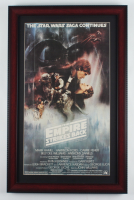 """Star Wars: The Empire Strikes Back"" 14.5x22.5 Custom Framed Poster Print Display at PristineAuction.com"
