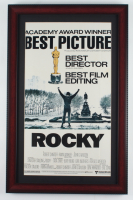 """Rocky"" 14.5x22.5 Custom Framed Movie Poster Display at PristineAuction.com"