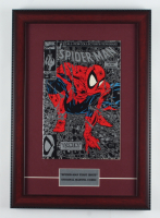 """1990 """"The Amazing Spider-Man"""" 12x17 Custom Framed First Issue Marvel Comic Book Display at PristineAuction.com"""