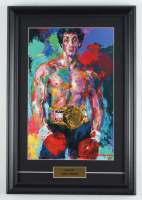 "LeRoy Neiman ""Rocky"" 12.5x18 Custom Framed Print Display at PristineAuction.com"