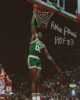 "Robert Parish Signed Celtics 8x10 Photo Inscribed ""HOF 03"" (Schwartz Sports COA) at PristineAuction.com"