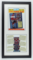 "Bobby Orr Black Hawks ""The Game"" 14.5x27 Custom Framed Print Display at PristineAuction.com"