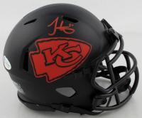 Tyreek Hill Signed Chiefs Eclipse Alternate Speed Mini Helmet (Beckett COA) at PristineAuction.com