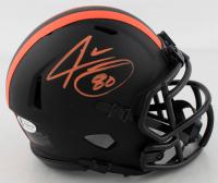 Jarvis Landry Signed Browns Eclipse Alternate Speed Mini Helmet (Beckett COA) at PristineAuction.com