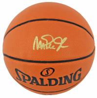 Magic Johnson Signed NBA Game Ball Series Basketball (Beckett Hologram) at PristineAuction.com