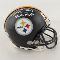 "Hines Ward Signed Steelers XL Super Bowl Champions Logo Mini Helmet Inscribed ""SB XL MVP"" (Beckett Hologram) at PristineAuction.com"