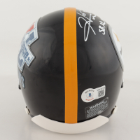 "Hines Ward Signed Steelers XL Super Bowl Champions Logo Mini Helmet Inscribed ""SB XL MVP"" (Beckett Hologram) at PristineAuction.com"