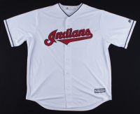 Shane Bieber Signed Indians Majestic Jersey (JSA COA) at PristineAuction.com
