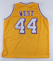 Jerry West Signed Jersey (JSA COA) at PristineAuction.com