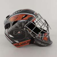 Carter Hart Signed Flyers Full-Size Goalie Mask (Fanatics Hologram) at PristineAuction.com