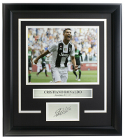 Cristiano Ronaldo 16x18 Custom Framed Photo Display at PristineAuction.com