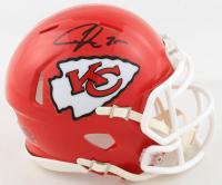 Chris Jones Signed Chiefs Speed Mini Helmet (Beckett COA) at PristineAuction.com