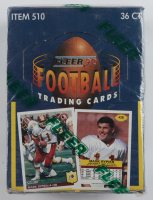1992 Fleer Football Wax Box of (36) Packs at PristineAuction.com