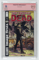 "Tony Moore Signed 2003 ""The Walking Dead"" Volume #1 Image Firsts Comic Book (CBCS Encapsulated & Beckett Encapsulated) at PristineAuction.com"