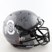 Parris Campbell Signed Ohio State Buckeyes Full-Size Authentic On-Field Hydro-Dipped Helmet (Beckett Hologram) (See Description) at PristineAuction.com