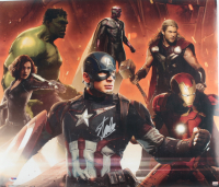 "Stan Lee Signed ""The Avengers"" 20x22 Print (PSA Hologram) (See Description) at PristineAuction.com"