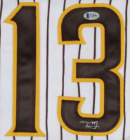 Manny Machado Signed Jersey (Beckett COA) at PristineAuction.com