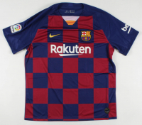 "Lionel Messi Signed FC Barcelona Jersey Inscribed ""Leo"" (Beckett Hologram) at PristineAuction.com"