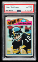 Terry Bradshaw 1977 Topps #245 (PSA 8) at PristineAuction.com